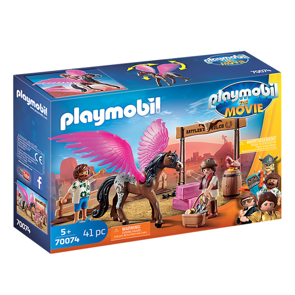 Playmobil- Movie Marla i Del sa letećim konjem
