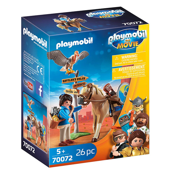 Playmobil- Movie Marla sa konjem