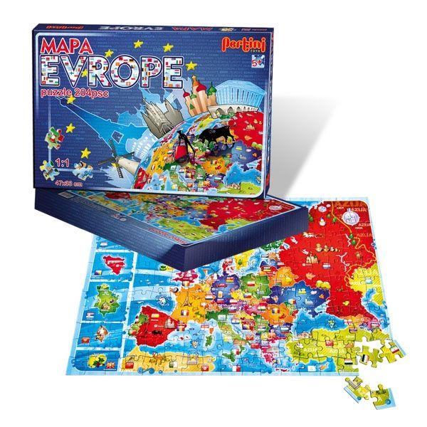 Pertini Mapa Evrope Pertini Online Prodavica