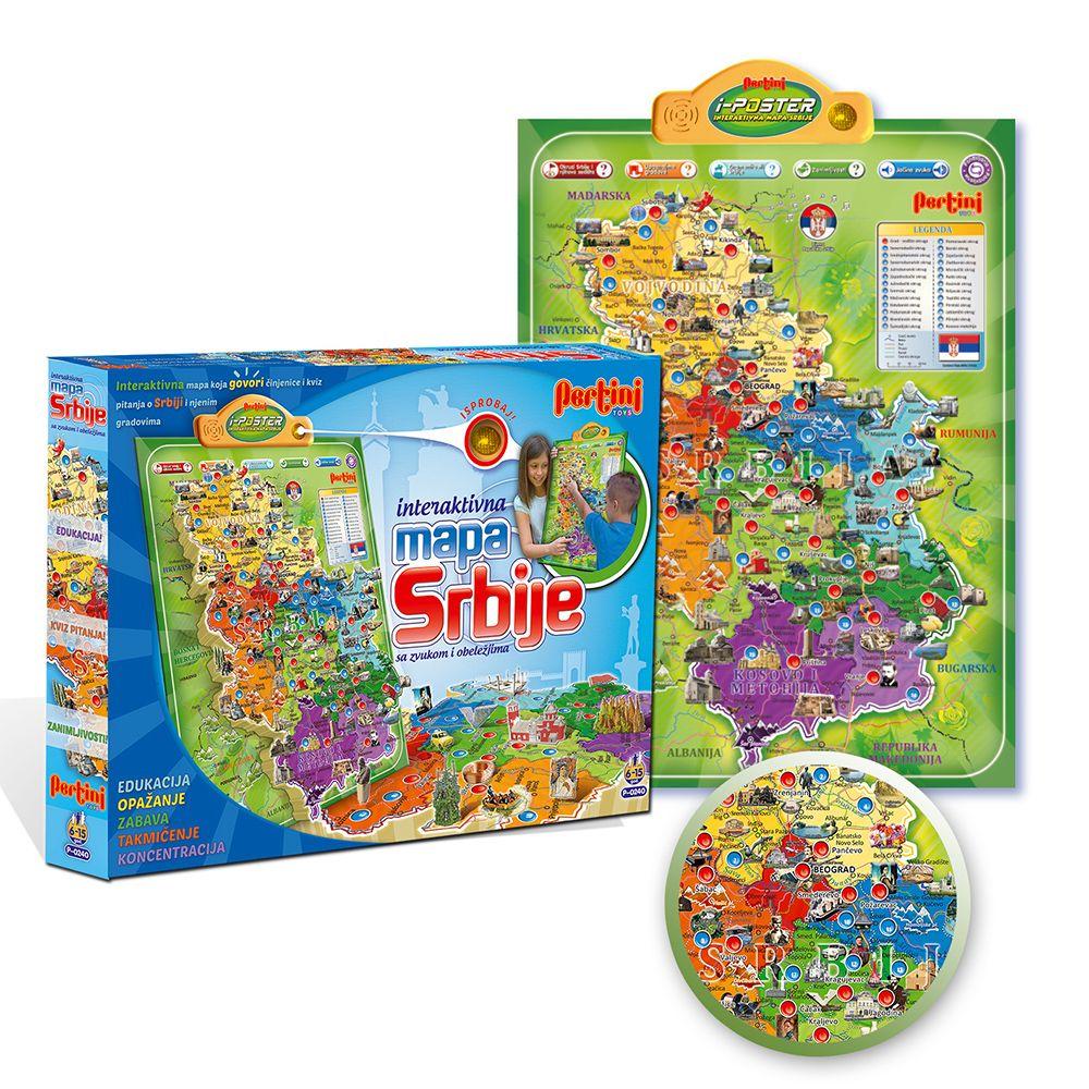 Pertini Elektronska Mapa Srbije Pertini Online Prodavica